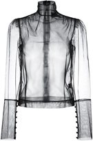 Simone Rocha sheer blouse