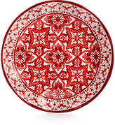 "Q Squared Talavera Roja Collection Melamine 10.5"" Dinner Plate"
