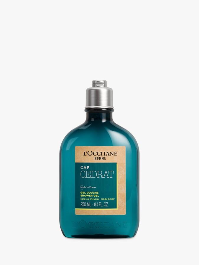 L'Occitane Homme Cap Cedrat Hair & Body Shower Gel, 250ml