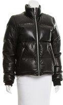 Alexander Wang Leather Puffer Coat