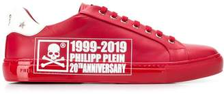 Philipp Plein 20th Anniversary print low-top sneakers