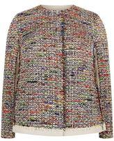 Marina Rinaldi Woven Tweed Jacket