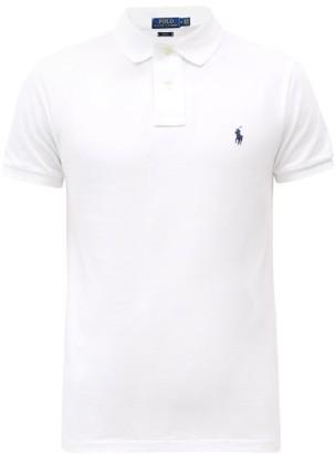 Polo Ralph Lauren Slim-fit Cotton Polo Shirt - White