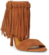 Polo Ralph Lauren Shari Fringed Suede Sandal