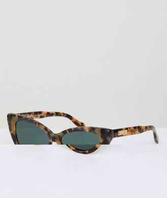 Kyoto cat eye sunglasses in tort