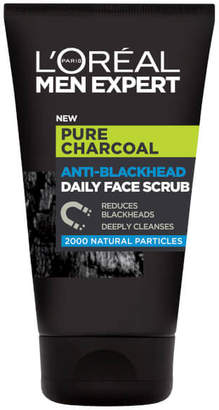 Paris Men Expert Men Expert Pure Charcoal Anti-Blackhead Daily Face Scrub 100ml
