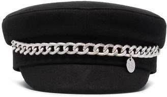 Ruslan Baginskiy Chain-Detail Baker Boy Hat