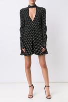 Rebecca Vallance Polka Dot Mini Dress