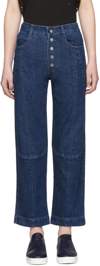 Stella McCartney Blue Yara Jeans
