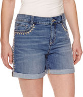 ST. JOHN'S BAY St. John's Bay Denim 5 Shorts
