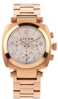 Links of London Rose Gold Brompton Chronograph Watch
