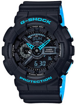 G-Shock G Shock Duo Layered Neon W/Time, Alarm