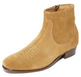 H By Hudson Winston Suede Zip Boots