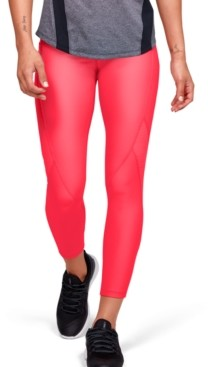 Under Armour Women's HeatGear Jacquard Compression Leggings