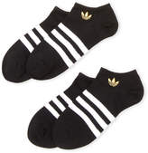 adidas Boys 8-20) 3-Pack No-Show Socks