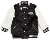 Little Marc Jacobs Girl's Faux Fur Jacket