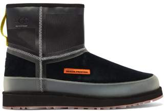 Heron Preston X Ugg Urban Tech Suede Ankle Boots - Mens - Black