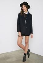 Forever 21 Oversized Wool-Blend Coat