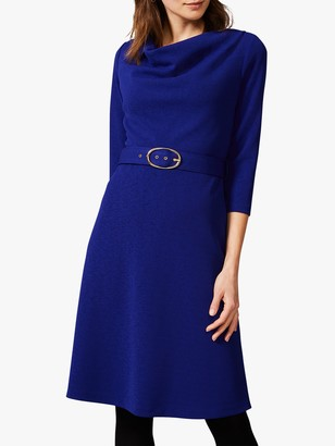 Phase Eight Annette Swing Dress, Blue