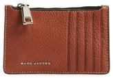 Marc Jacobs 'Wingman' Leather Zip Wallet - Brown