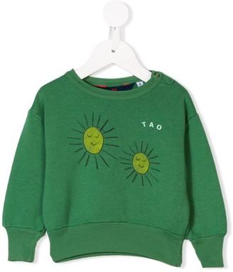The Animals Observatory Sun Printed Sweatshirt