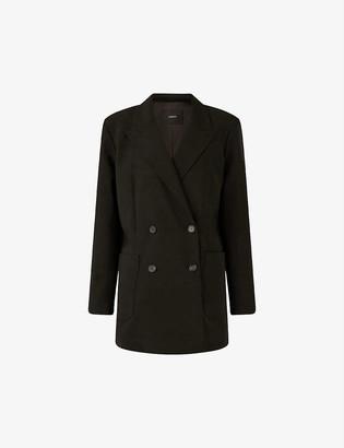 Joseph Josie double-breasted wool-twill blazer