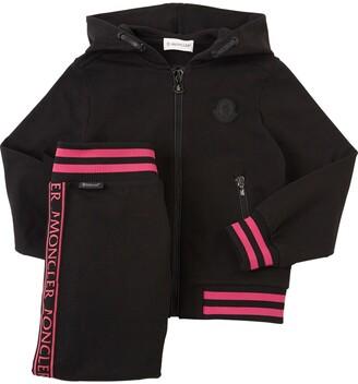 Moncler Cotton Fleece Sweatshirt & Pants
