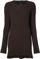 Josh Goot ribbed detail jumper - women - Wool - XS