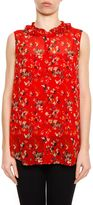 Christian Dior Sleeveless Silk Top