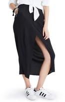 Madewell Women's Overlay Midi Skirt