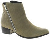 Pacific Flat Ankle Boot With Zip