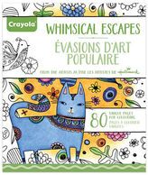 Crayola Aged Up Whimsical Adult Colouring Book