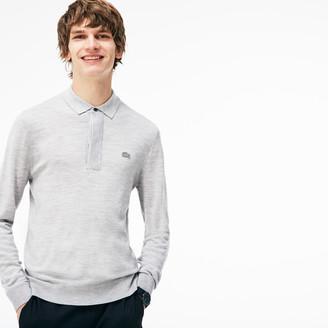Lacoste Men's Wool Jersey Sweater