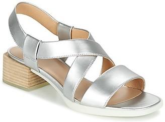 Camper KOBO women's Sandals in Silver