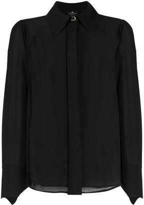 Elisabetta Franchi Tie-Effect Shirt
