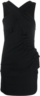IRO Crossover Neck Dress