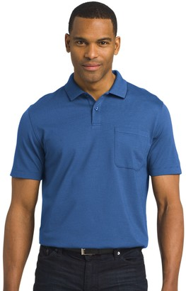 Van Heusen Men's Classic-Fit Striped Jacquard Polo