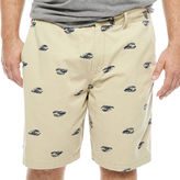 THE FOUNDRY SUPPLY CO. The Foundry Big & Tall Supply Co. Twill Chino Shorts-Big and Tall