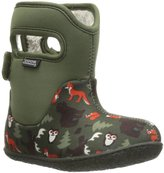 Bogs Classic Woodland (Inf/Tod) - Dark Green Multi-6 Toddler