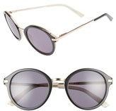 Ted Baker Women's 49Mm Round Sunglasses - Black