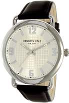 Kenneth Cole Men's KCW1043 Leather Quartz Watch