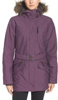 Columbia Women's 'Carson Pass Ii' Hooded Waterproof Jacket With Removable Faux Fur Trim