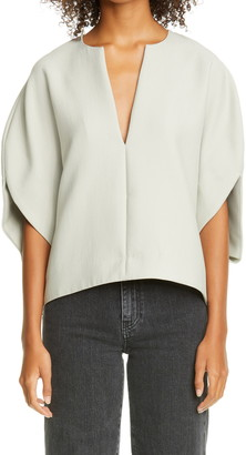 Totême Penicton Elbow Sleeve Blouse