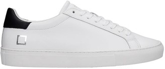D.A.T.E Newman Sneakers In White Leather