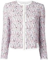 Giambattista Valli open front box jacket - women - Silk/Cotton/Polyamide/Virgin Wool - 48