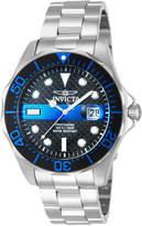 Invicta 14702 Silver-Tone & Black Pro Diver Watch