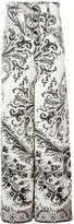Etro printed wide leg trousers - women - Cotton - 42