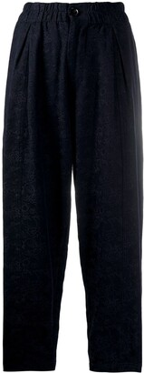 YMC Textured Tapered Trousers