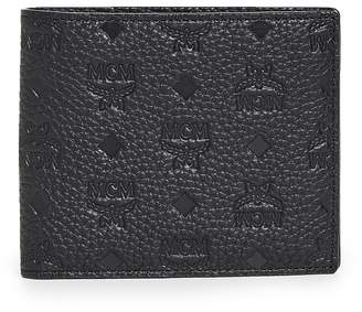 MCM Max Leather Bifold Wallet