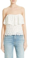 Rebecca Taylor Women's Off The Shoulder Lace Top